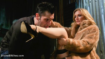 Photo number 7 from Mona Wales milks her daddy's new associate for assets  shot for Divine Bitches on Kink.com. Featuring Mona Wales and Papa Georgio in hardcore BDSM & Fetish porn.