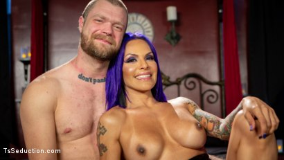 Photo number 21 from Boyfriend PUNISHMENT: TS Foxxy Pounds Loser Boyfriend Mike Panic's Ass shot for TS Seduction on Kink.com. Featuring TS Foxxy and Mike Panic in hardcore BDSM & Fetish porn.