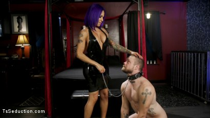Photo number 3 from Boyfriend PUNISHMENT: TS Foxxy Pounds Loser Boyfriend Mike Panic's Ass shot for TS Seduction on Kink.com. Featuring TS Foxxy and Mike Panic in hardcore BDSM & Fetish porn.