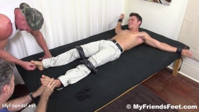 Photo number 16 from Sexy Hunk Matthew Tickled shot for My Friends Feet on Kink.com. Featuring Matthew C in hardcore BDSM & Fetish porn.