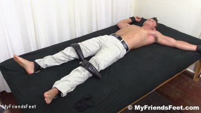 Photo number 20 from Sexy Hunk Matthew Tickled shot for My Friends Feet on Kink.com. Featuring Matthew C in hardcore BDSM & Fetish porn.