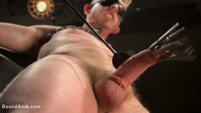 Photo number 3 from Pushed to the Max: Cody Winter takes it all shot for Bound Gods on Kink.com. Featuring Sebastian Keys and Cody Winter in hardcore BDSM & Fetish porn.