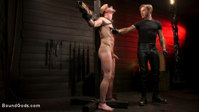 Photo number 7 from Pushed to the Max: Cody Winter takes it all shot for Bound Gods on Kink.com. Featuring Sebastian Keys and Cody Winter in hardcore BDSM & Fetish porn.