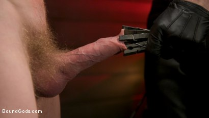 Photo number 11 from Pushed to the Max: Cody Winter takes it all shot for Bound Gods on Kink.com. Featuring Sebastian Keys and Cody Winter in hardcore BDSM & Fetish porn.