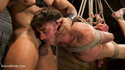 Photo number 10 from Fresh Meat: Arad Winwin Trains New Slave shot for Bound Gods on Kink.com. Featuring Arad Winwin and Cayden Stone in hardcore BDSM & Fetish porn.