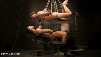 Photo number 4 from Fresh Meat: Arad Winwin Trains New Slave shot for Bound Gods on Kink.com. Featuring Arad Winwin and Cayden Stone in hardcore BDSM & Fetish porn.