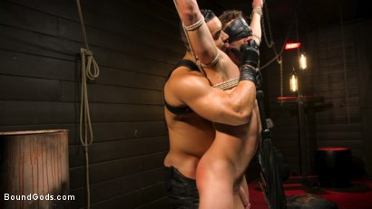 Photo number 6 from Fresh Meat: Arad Winwin Trains New Slave shot for Bound Gods on Kink.com. Featuring Arad Winwin and Cayden Stone in hardcore BDSM & Fetish porn.