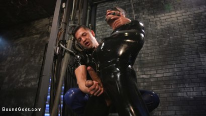 Photo number 12 from Angel Duran Broken In and Stretched Out shot for Bound Gods on Kink.com. Featuring Dominic Pacifico and Angel Duran in hardcore BDSM & Fetish porn.