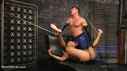 Photo number 26 from Angel Duran Broken In and Stretched Out shot for Bound Gods on Kink.com. Featuring Dominic Pacifico and Angel Duran in hardcore BDSM & Fetish porn.