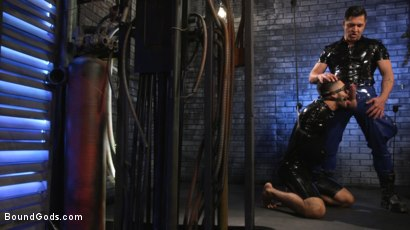 Photo number 7 from Angel Duran Broken In and Stretched Out shot for Bound Gods on Kink.com. Featuring Dominic Pacifico and Angel Duran in hardcore BDSM & Fetish porn.