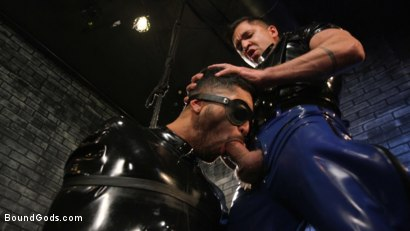 Photo number 15 from Angel Duran Broken In and Stretched Out shot for Bound Gods on Kink.com. Featuring Dominic Pacifico and Angel Duran in hardcore BDSM & Fetish porn.