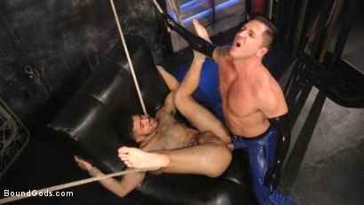 Photo number 34 from Angel Duran Broken In and Stretched Out shot for Bound Gods on Kink.com. Featuring Dominic Pacifico and Angel Duran in hardcore BDSM & Fetish porn.