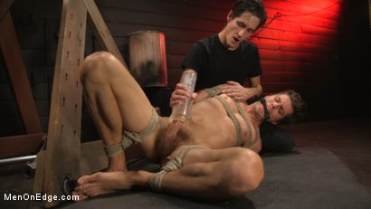 Photo number 21 from Shy Quiet Type, Alex Chandler Can Barely Hold His Load shot for Men On Edge on Kink.com. Featuring Alex Chandler in hardcore BDSM & Fetish porn.