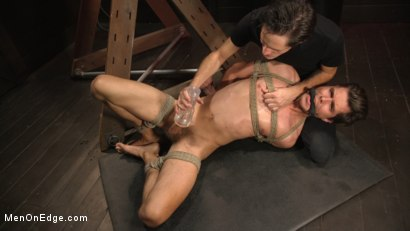 Photo number 22 from Shy Quiet Type, Alex Chandler Can Barely Hold His Load shot for Men On Edge on Kink.com. Featuring Alex Chandler in hardcore BDSM & Fetish porn.