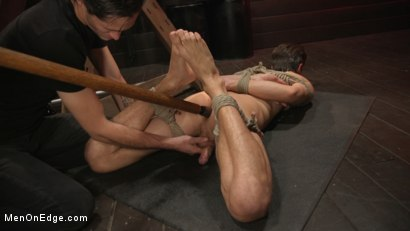 Photo number 17 from Shy Quiet Type, Alex Chandler Can Barely Hold His Load shot for Men On Edge on Kink.com. Featuring Alex Chandler in hardcore BDSM & Fetish porn.