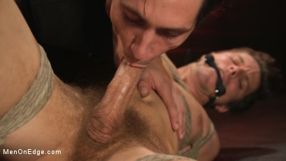 Photo number 20 from Shy Quiet Type, Alex Chandler Can Barely Hold His Load shot for Men On Edge on Kink.com. Featuring Alex Chandler in hardcore BDSM & Fetish porn.