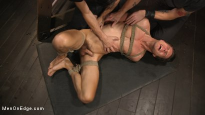 Photo number 24 from Shy Quiet Type, Alex Chandler Can Barely Hold His Load shot for Men On Edge on Kink.com. Featuring Alex Chandler in hardcore BDSM & Fetish porn.