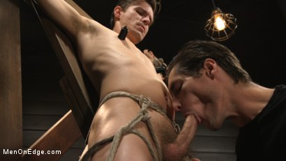 Photo number 5 from Shy Quiet Type, Alex Chandler Can Barely Hold His Load shot for Men On Edge on Kink.com. Featuring Alex Chandler in hardcore BDSM & Fetish porn.