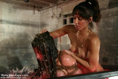 Photo number 18 from Isabella Soprano and Isis Love shot for Water Bondage on Kink.com. Featuring Isabella Soprano and Isis Love in hardcore BDSM & Fetish porn.