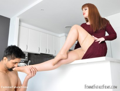 Photo number 7 from House Rules shot for Femme Fatale Films on Kink.com. Featuring Slave and Miss Zoe in hardcore BDSM & Fetish porn.