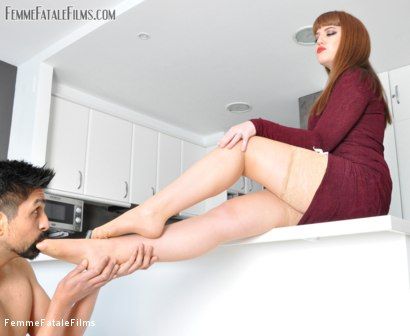 Photo number 9 from House Rules shot for Femme Fatale Films on Kink.com. Featuring Slave and Miss Zoe in hardcore BDSM & Fetish porn.