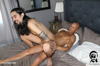 Photo number 16 from Stoner Dude Takes a 9 Incher shot for Alternadudes on Kink.com. Featuring Joseph Banks  and Maxx Stoner in hardcore BDSM & Fetish porn.