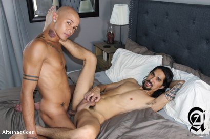 Photo number 24 from Stoner Dude Takes a 9 Incher shot for Alternadudes on Kink.com. Featuring Joseph Banks  and Maxx Stoner in hardcore BDSM & Fetish porn.