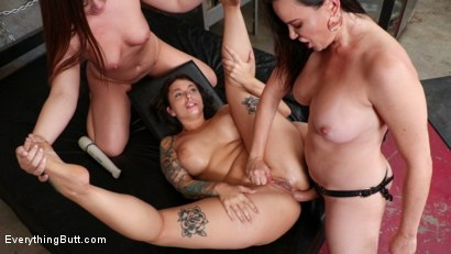 Photo number 22 from Anal Craving Beauties  shot for Everything Butt on Kink.com. Featuring Ivy LeBelle , Dana DeArmond and Maddy O'Reilly in hardcore BDSM & Fetish porn.