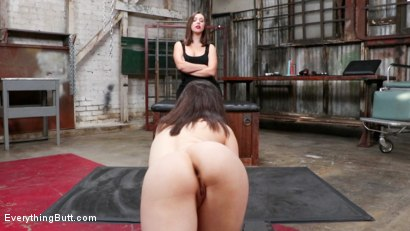 Photo number 2 from Jenna's Anal Plaything shot for Everything Butt on Kink.com. Featuring Casey Calvert  and Jenna Sativa in hardcore BDSM & Fetish porn.