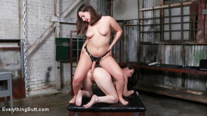 Photo number 24 from Jenna's Anal Plaything shot for Everything Butt on Kink.com. Featuring Casey Calvert  and Jenna Sativa in hardcore BDSM & Fetish porn.