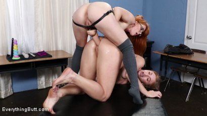 Photo number 12 from A.P. Anal Studies shot for Everything Butt on Kink.com. Featuring Penny Pax and Skylar Snow in hardcore BDSM & Fetish porn.
