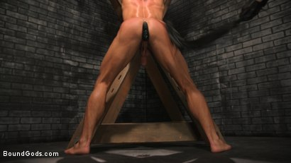 Photo number 7 from A Hard Place: Casey Everett Tormented And Fucked In Full Suspension shot for Bound Gods on Kink.com. Featuring Sebastian Keys and Casey Everett in hardcore BDSM & Fetish porn.