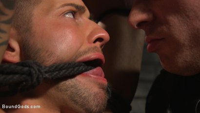Photo number 10 from A Hard Place: Casey Everett Tormented And Fucked In Full Suspension shot for Bound Gods on Kink.com. Featuring Sebastian Keys and Casey Everett in hardcore BDSM & Fetish porn.