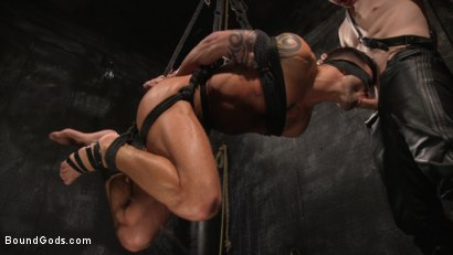 Photo number 16 from A Hard Place: Casey Everett Tormented And Fucked In Full Suspension shot for Bound Gods on Kink.com. Featuring Sebastian Keys and Casey Everett in hardcore BDSM & Fetish porn.