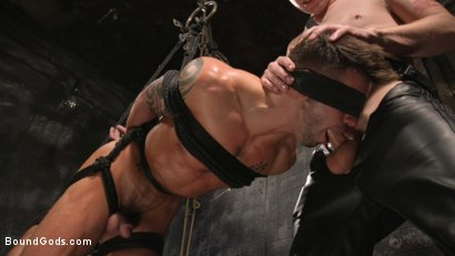 Photo number 18 from A Hard Place: Casey Everett Tormented And Fucked In Full Suspension shot for Bound Gods on Kink.com. Featuring Sebastian Keys and Casey Everett in hardcore BDSM & Fetish porn.