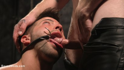 Photo number 29 from A Hard Place: Casey Everett Tormented And Fucked In Full Suspension shot for Bound Gods on Kink.com. Featuring Sebastian Keys and Casey Everett in hardcore BDSM & Fetish porn.