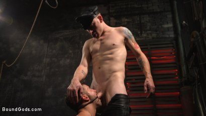 Photo number 30 from A Hard Place: Casey Everett Tormented And Fucked In Full Suspension shot for Bound Gods on Kink.com. Featuring Sebastian Keys and Casey Everett in hardcore BDSM & Fetish porn.