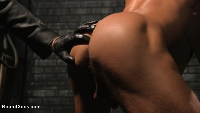 Photo number 4 from A Hard Place: Casey Everett Tormented And Fucked In Full Suspension shot for Bound Gods on Kink.com. Featuring Sebastian Keys and Casey Everett in hardcore BDSM & Fetish porn.
