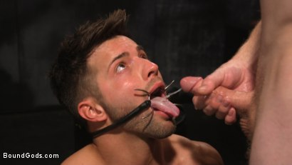 Photo number 31 from A Hard Place: Casey Everett Tormented And Fucked In Full Suspension shot for Bound Gods on Kink.com. Featuring Sebastian Keys and Casey Everett in hardcore BDSM & Fetish porn.