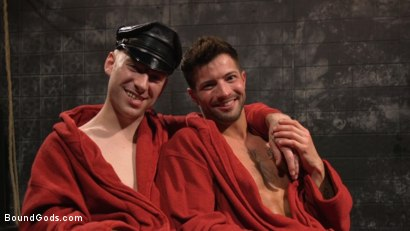 Photo number 32 from A Hard Place: Casey Everett Tormented And Fucked In Full Suspension shot for Bound Gods on Kink.com. Featuring Sebastian Keys and Casey Everett in hardcore BDSM & Fetish porn.