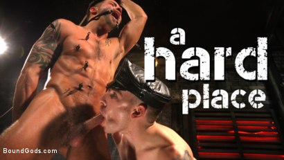 A Hard Place: Casey Everett Tormented And Fucked In Full Suspension