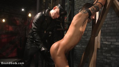Photo number 5 from A Hard Place: Casey Everett Tormented And Fucked In Full Suspension shot for Bound Gods on Kink.com. Featuring Sebastian Keys and Casey Everett in hardcore BDSM & Fetish porn.