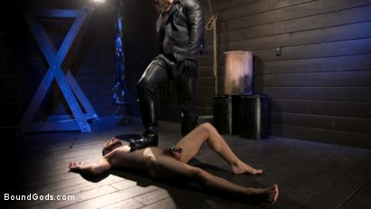 Photo number 10 from My Daddy Wears Leather: William Crown worships Jack Dixon's Leather shot for Bound Gods on Kink.com. Featuring Jack Dixon and William Crown in hardcore BDSM & Fetish porn.