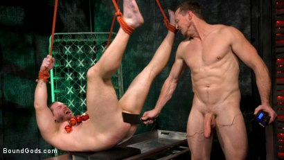 Photo number 9 from Straight Stud Bound & Terrorized to Relive HOLIDAY HORROR Abduction shot for Bound Gods on Kink.com. Featuring Pierce Paris and Kip Johnson in hardcore BDSM & Fetish porn.