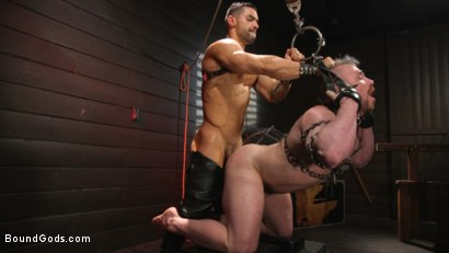 Photo number 6 from Heavy Handed: Arad Winwin Flogs, Fucks and Fists Blake Hunter shot for Bound Gods on Kink.com. Featuring Arad Winwin and Blake Hunter in hardcore BDSM & Fetish porn.
