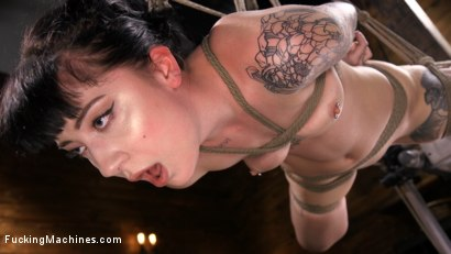 Photo number 5 from Sexy Goth Slut Charlotte Sartre Gets Machine Fucked In Bondage shot for Fucking Machines on Kink.com. Featuring Charlotte Sartre in hardcore BDSM & Fetish porn.