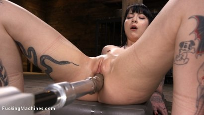 Photo number 7 from Sexy Goth Slut Charlotte Sartre Gets Machine Fucked In Bondage shot for Fucking Machines on Kink.com. Featuring Charlotte Sartre in hardcore BDSM & Fetish porn.
