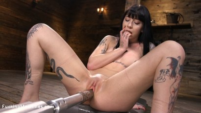 Photo number 10 from Sexy Goth Slut Charlotte Sartre Gets Machine Fucked In Bondage shot for Fucking Machines on Kink.com. Featuring Charlotte Sartre in hardcore BDSM & Fetish porn.