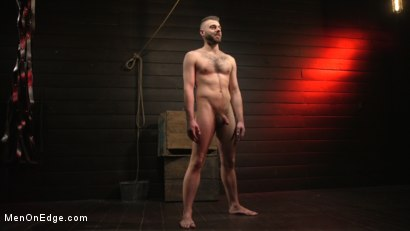 Photo number 16 from William Crown Gets His Big Hard Dick Choked And Edged shot for Men On Edge on Kink.com. Featuring William Crown in hardcore BDSM & Fetish porn.