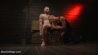 Photo number 1 from William Crown Gets His Big Hard Dick Choked And Edged shot for Men On Edge on Kink.com. Featuring William Crown in hardcore BDSM & Fetish porn.